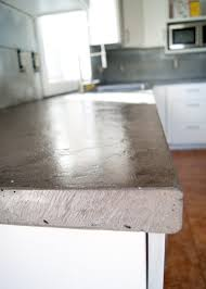 Diy Laminate Flooring On Concrete Diy Concrete Counters Poured Over Laminate Averie Lane Diy