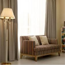 Hotel Drapery Rods Aliexpress Com Buy Hotel Curtains Blackout Living Room Solid