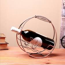 online get cheap small metal wine rack aliexpress com alibaba group