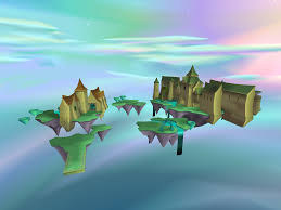 entire world views for lofty castle and haunted towers spyro