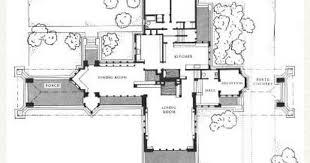 Anne Frank House Floor Plan Plan Ward W Willits House 1901 Highland Park Illinois Prairie