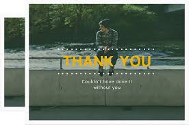 thank you cards design thank you photo cards for free