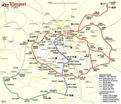 Red Line Metro Map Paris Region Moves Ahead With 125 Miles Of New Metro Lines The
