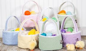 plush easter basket kid s plush easter baskets groupon goods