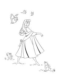 princess aurora coloring pages learn coloring