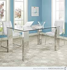 stainless steel dining room tables 15 superb stainless steel dining table designs stainless steel