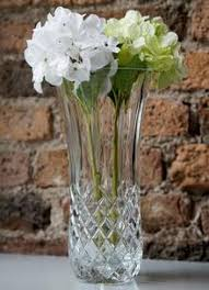 Vintage Waterford Crystal Signed 8 Inch Flower Vase In Waterford Crystal Gifts Irish Waterford Crystal Collection