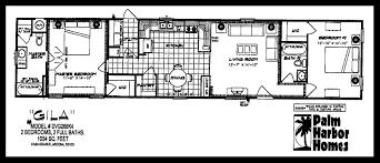 Single Wide Mobile Homes Floor Plans And Pictures 2007 Palm Harbor Lot 353 Desert Pueblo Mobile Homes