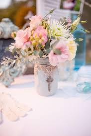 Mason Jar Flower Centerpieces Wedding Centerpieces With Mason Jars Tbrb Info