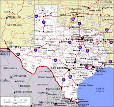 map tx welcome to tourism and road trips