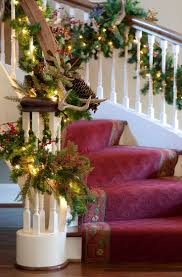 Decorated Homes For Christmas by 555 Best Christmas Stair Decor Images On Pinterest Christmas