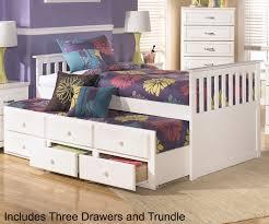Ashley Furniture Trundle Bed Twin Lulu B102 Twin Size Captain U0027s Trundle Bed Ashley Kids Furniture