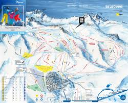 Colorado Ski Resort Map by Trail Map La Parva