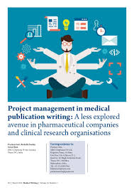 v25n1a10 project management in medical publication writing