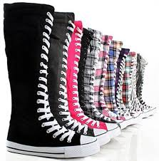 womens knee high boots sale funky and with a bunny on the side fashion knee sneakers