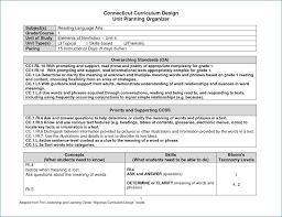 Rigorous Curriculum Design Template rigorous curriculum design template hondaarti net