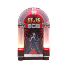 elvis musical illuminated jukebox ornament seasonal