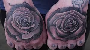 rose on hand tattoo the best hand 2017