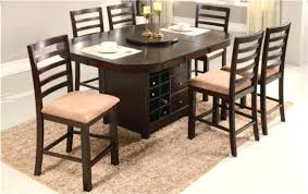round table with lazy susan built in round dining table lazy susan kinoed me