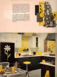 yellow kitchen walls with dark cabinets yellow and blue valance