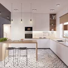 best 25 kitchen interior ideas on hexagon tiles
