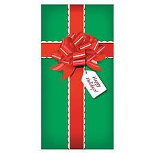 present gift door banner decoration