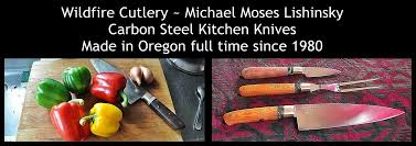 usa made kitchen knives wildfire cutlery s home page high carbon steel kitchen knives