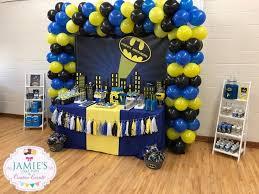 Batman Table Decorations 18 Best Batman Birthday Party Theicedsugarcookie Com Images On