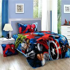 Cheap Kids Bedding Sets For Girls by Super Hero Iron Man Children Boys Bedding Set Twin Size Bed Sheets