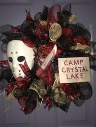 horror wreaths collection friday the 13th by lipsticklegion