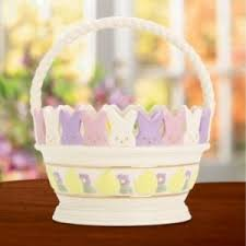 peeps basket the lenox peeps easter collection the home and garden cafe
