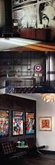 home design gallery saida man cave with super hero themes