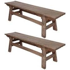 Rustic Log Benches - rustic log bench for sale at 1stdibs