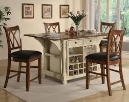 counter height kitchen island kitchen awesome high dinette sets counter height kitchen island