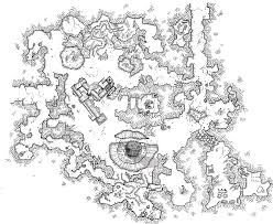 ashfire mine monday map rpg dungeon maps and cartography