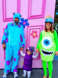 Monster Boo Halloween Costume Mike Wazowski Celia Boo Costumes Monsters Diy