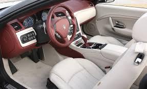 2009 maserati granturismo interior maserati gran sport convertible also image 4 auto types
