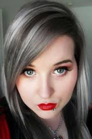 grey streaks in hair grey streaks google search how to cover the grey pinterest
