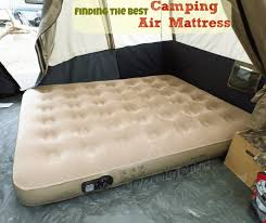 finding the best camping air mattress insta bed queen air