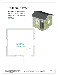 free playhouse cabin plans