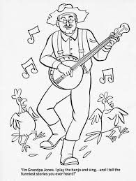 and everything else too hee haw coloring book u002770