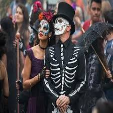 James Bond Costume Halloween Movie 007 James Bond Spectre Mask Skull Skeleton Scary Halloween