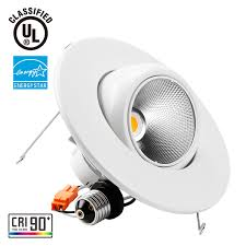 Adjustable Recessed Downlights 5 6