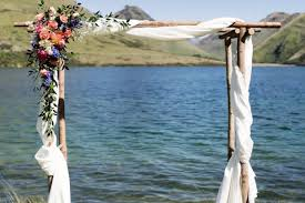 wedding arches nz queenstown wedding hire my way
