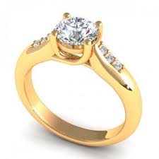 wedding ring photo 0 45ct cut diamonds engagement ring in i k in color si2