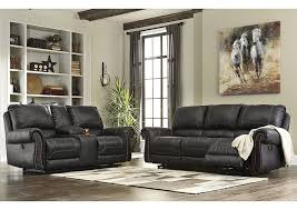 power reclining sofa and loveseat sets curly s furniture milhaven black reclining sofa loveseat