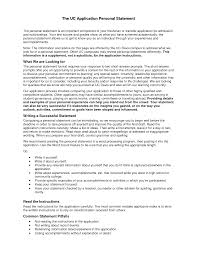 Resume Personal Statement Examples Example Mba Essays Resume Cv Cover Letter