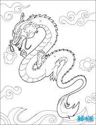 chinese dragon coloring pages hellokids com