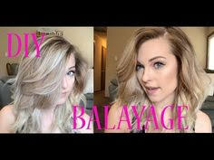 diy 20 at home hair balayage ombre tutorial youtube haare