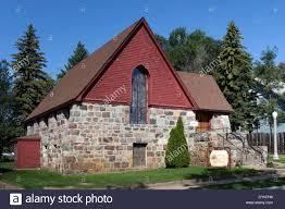 st paul u0027s episcopal church in rugby north dakota stock photo